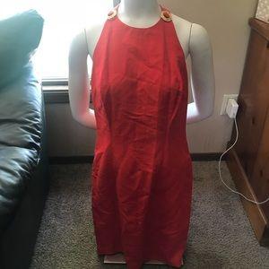 Vintage Linen Party Dress